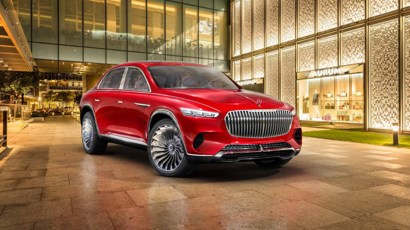 Maybach Vision Ultimate Luxury Blends SUV And Sedan