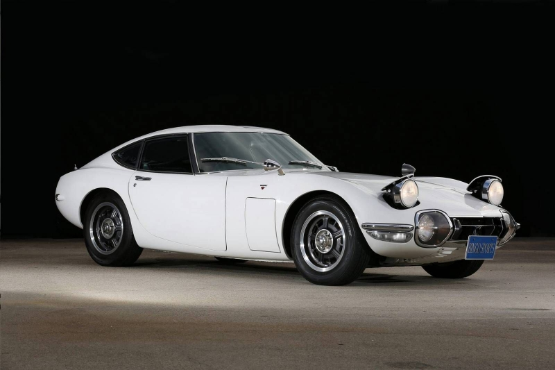 An exclusive 1968 Toyota 2000 GT is for sale at auction for over $1 million!