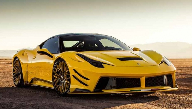 Bespoke one-of-a-kind Prior Design Ferrari 458
