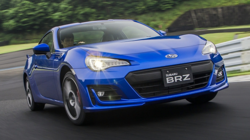 The new better-looking 2017 Subaru BRZ first drive!