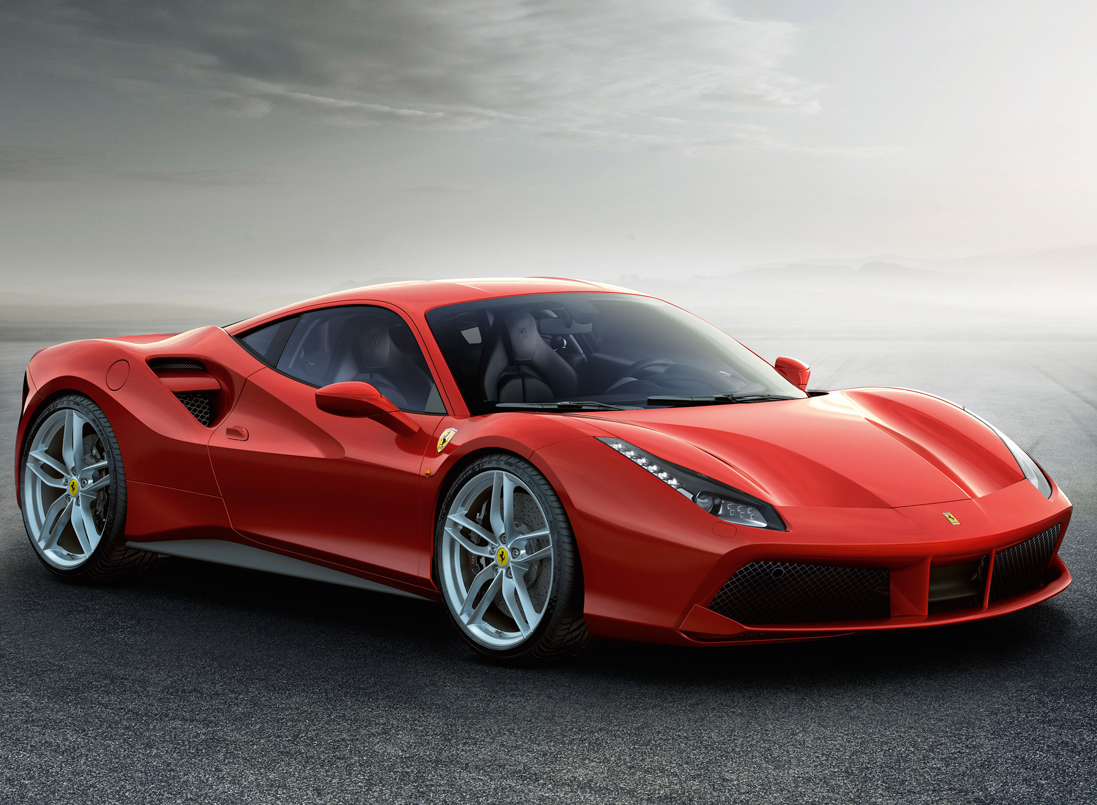 The more powerful and greener Ferari 488 GTB