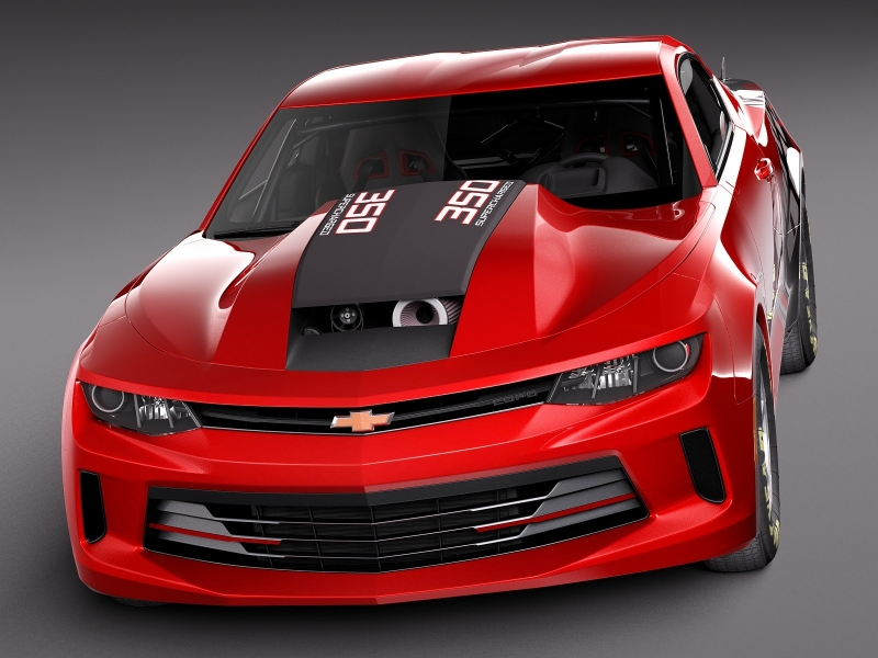 Chevrolet's first 2016 COPO Camaro is heading to auction