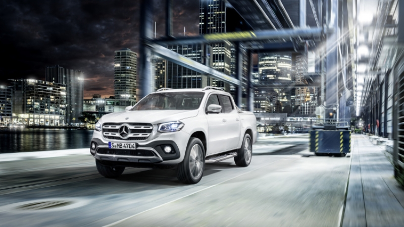 Mercedes-Benz unveils its 2018 X-Class pick-up truck