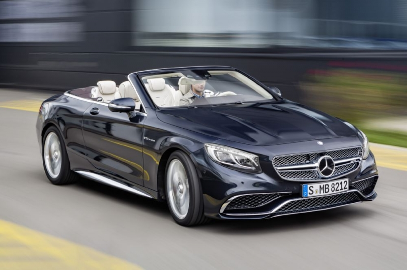The new 2017 Mercedes-AMG S65 Cabriolet is definitely a dream car