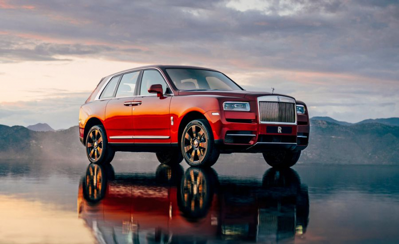 Rolls-Royce Cullinan might be the best SUV ever