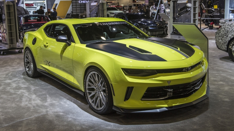 Updated Chevrolet Camaro at 2016 SEMA show