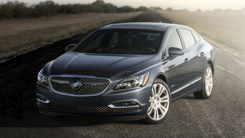 The 2018 Buick LaCrosse Avenir arrives in January