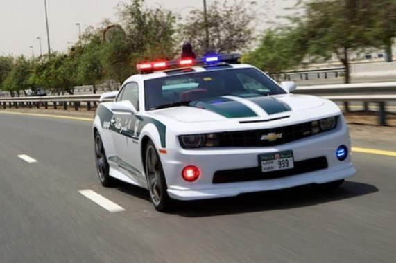 The Fastest Police Cars All Around The World