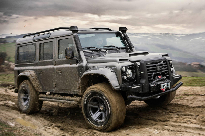 Italian Coachbuilder Creates The Ultimate Land Rover Defender