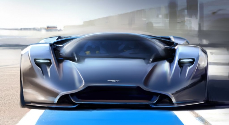 Aston Martin and Red Bull finally uncover the revolutionary supercar!