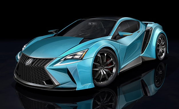 Lexus and BMW will work together on a new super car