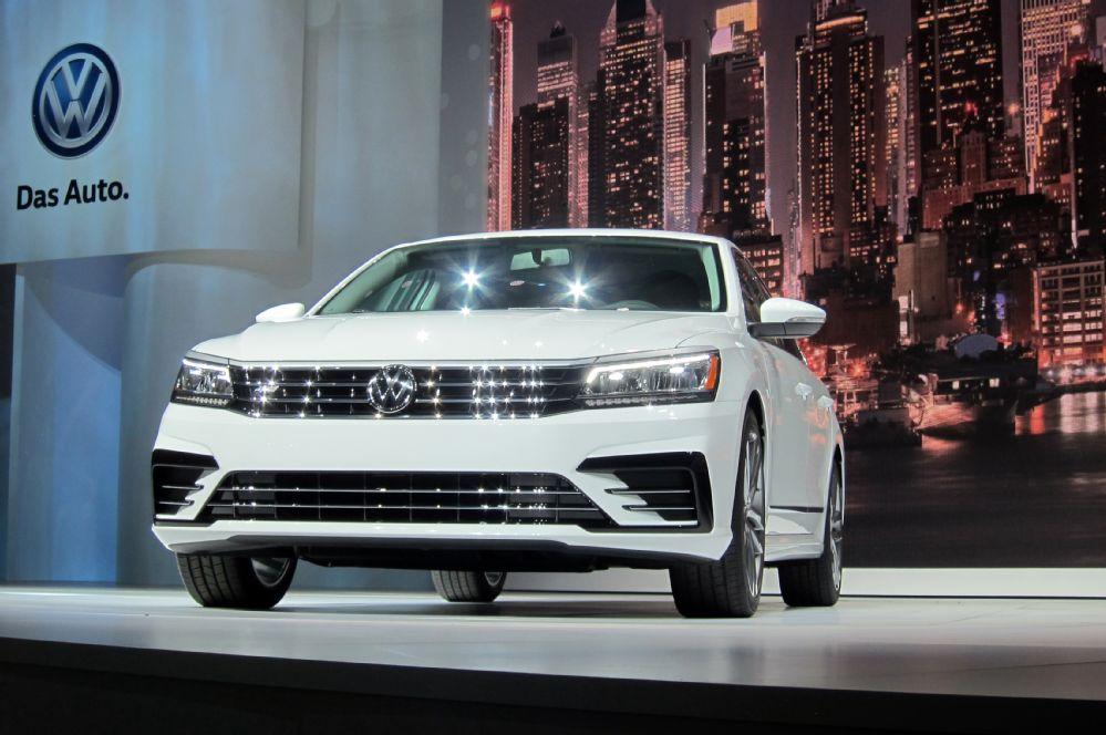 The New York reveal of the 2016 Volkswagen Passat