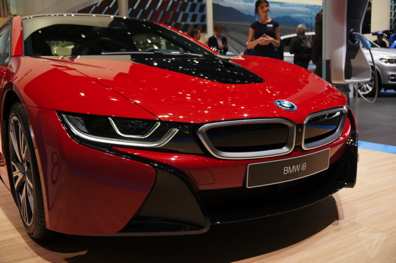 Be ready for the all-electric version of the BMW i8!