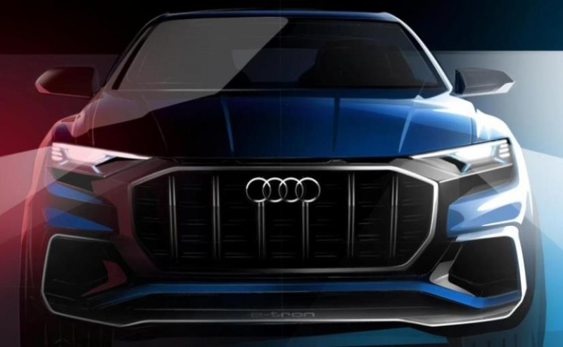 The luxurious-sporty Audi Q8 to debut at Detroit Auto Show