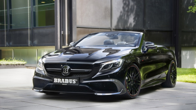 Brabus launched the world's fastest and most powerful convertible!