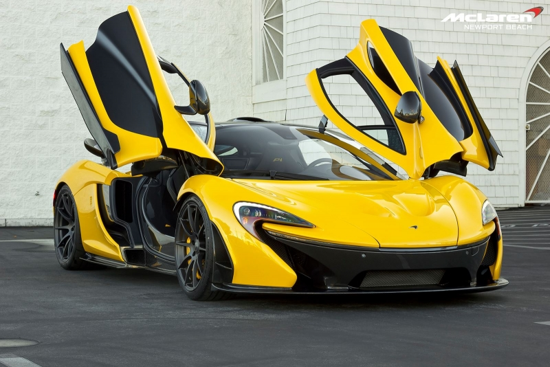No more McLaren P1 will be produced - the production of this model is officially closed