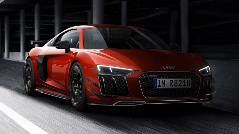Audi Sport Performance Parts R8 Is The Most Focused R8 Yet