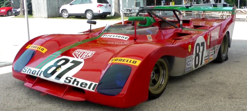 The old and unique Ferrari 312PB  Prototype!