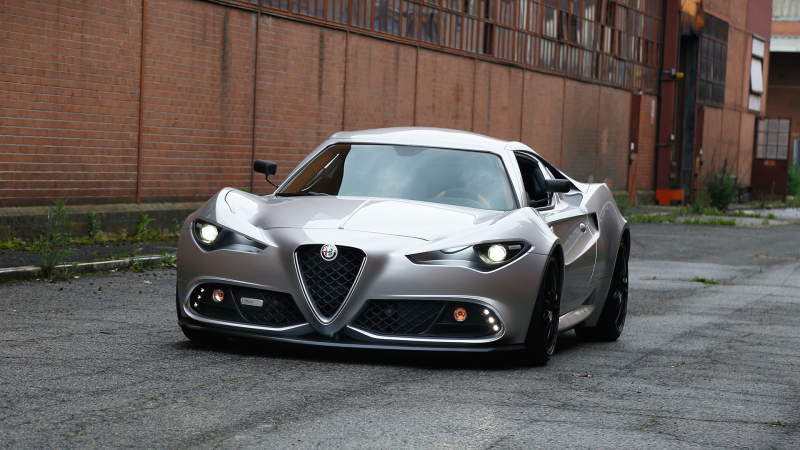 Italian Designer Imagines What Next Alfa Romeo 4C Would Look Like