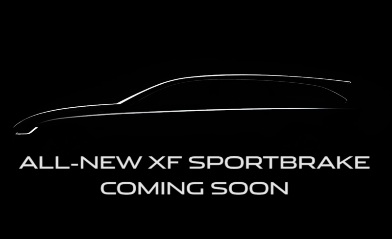 Jaguar teases its 2017 XF Sportbrake wagon ahead of summer launch