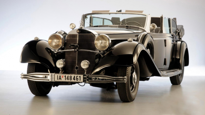 Adolf Hitler's Mercedes-Benz is going up for auction!