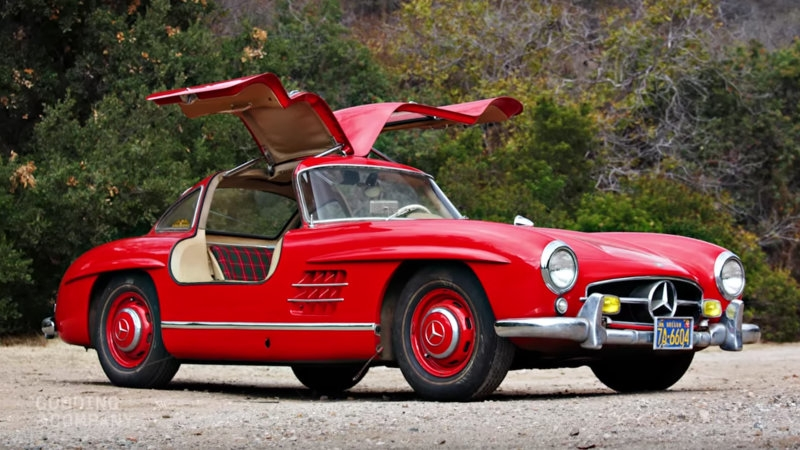Frozen in time – the 1955 Mercedes-Benz 300SL