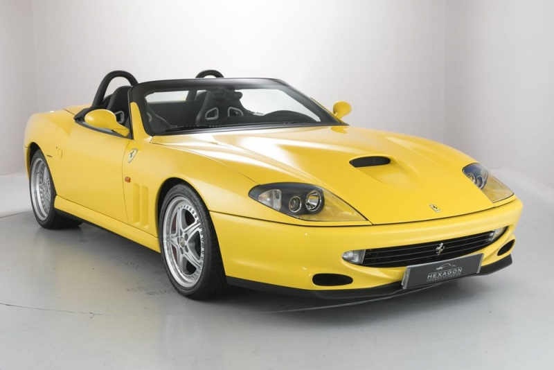 This priceless Ferrari 550 Barchetta is up for auction!
