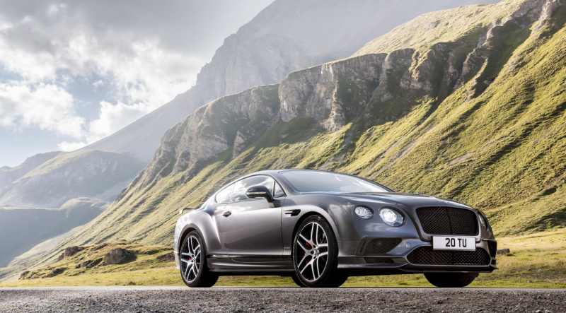 After the 2013 hiatus Bentley Continental GT Supersports is back