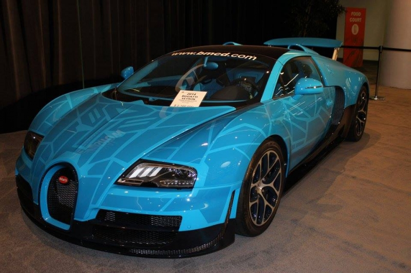 San Francisco Auto Show 2015 impressed with really amazing cars