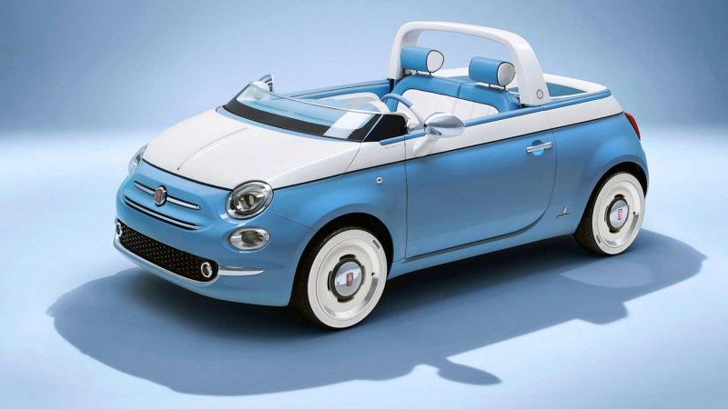Fiat 500 Spiaggina: It Doesn't Get More Adorable Than This