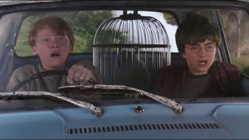If Harry Potter characters were cars