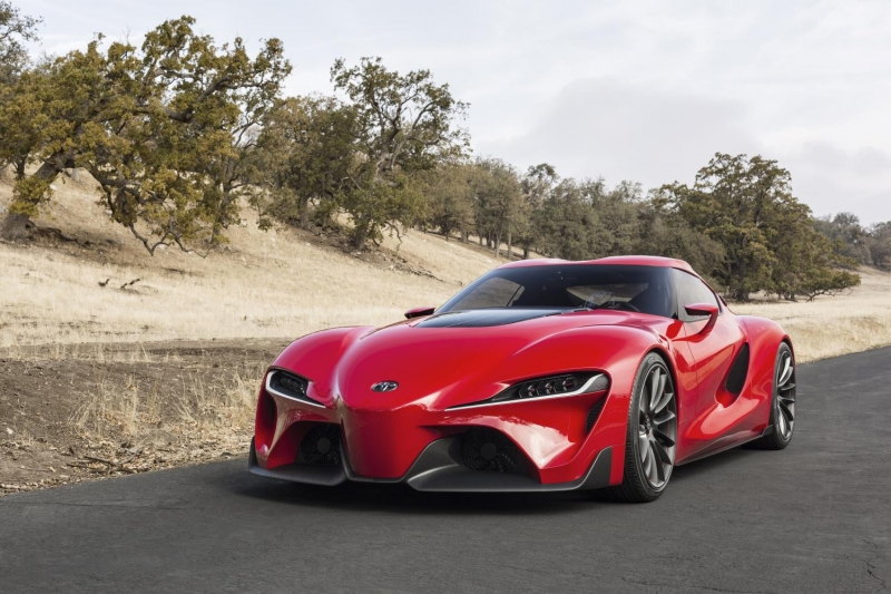 The 2019 Toyota Supra proportions and beautiful curves