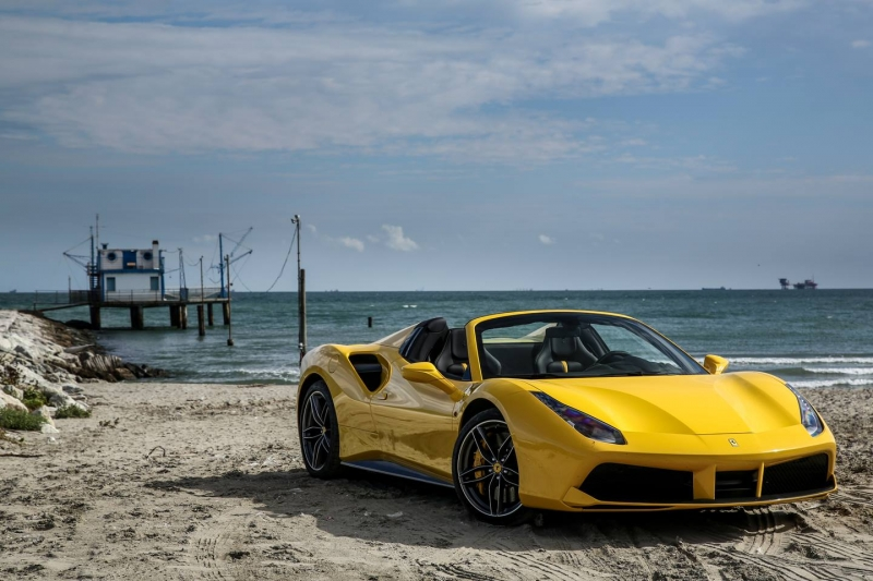 The Ferrari 488 Spider gloriously burst onto the supercar scene