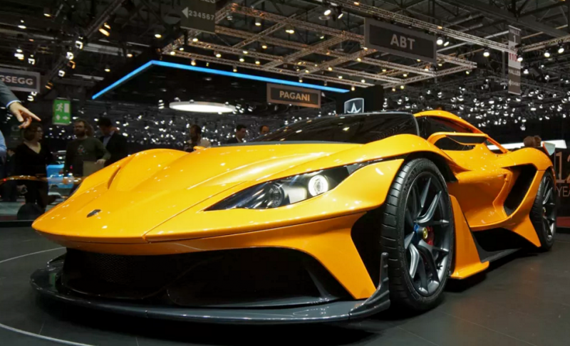 The Apollo Arrow hypercar is Gumpert's glorious resurrection