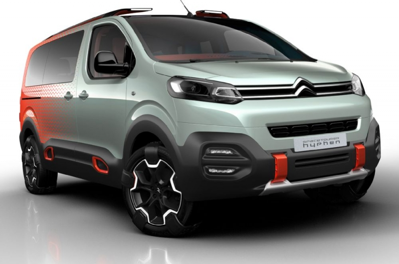 Citroen SpaceTourer Hyphen concept proves European vans can be cool