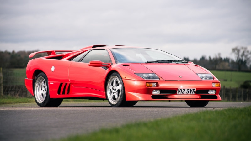 The Final Lamborghini Diablo Of The 20th Century Will Be Sold At Auction