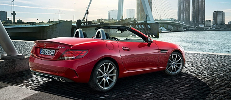 Mercedes-Benz launches a stunning SLC convertible