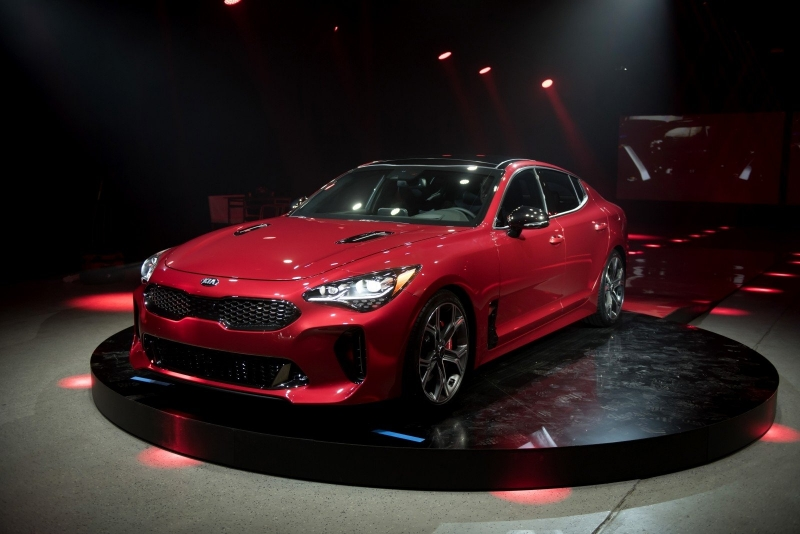 Kia Stinger GT significant and flawless