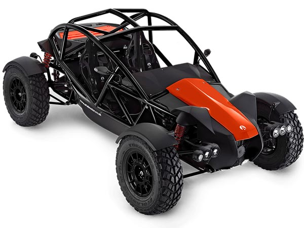 The Ariel Nomad has received a power upgrade in the form of a new supercharged engine