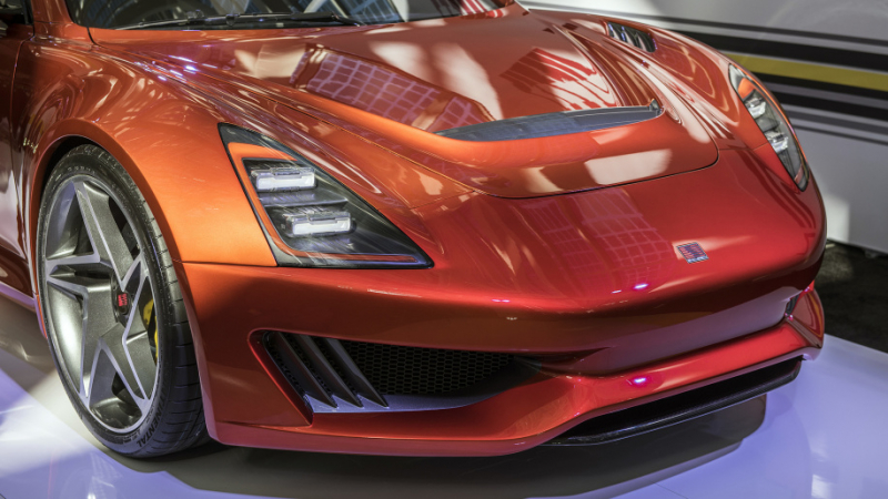 2018 Saleen 1 revealed at LA Auto Show