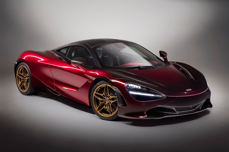 New twin-turbocharged 4.0-litre V8 McLaren 720S