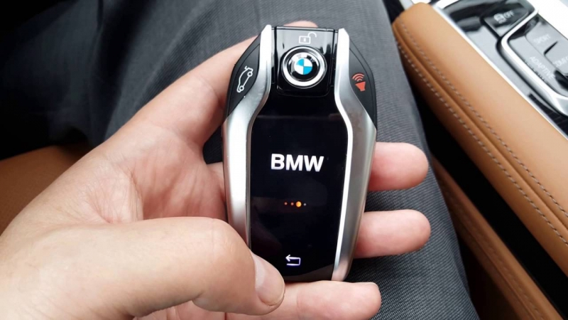 BMW is reviewing the necessity of car keys