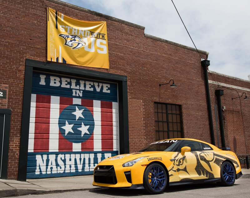 Unique Nissan GT-R Predzilla donated to Nashville Predators Foundation