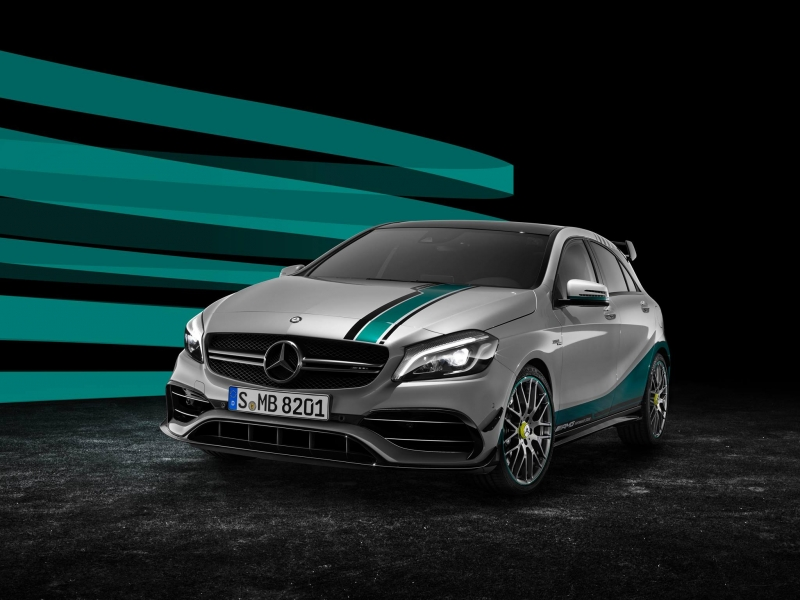 The special edition A 45 from Mercedes-AMG