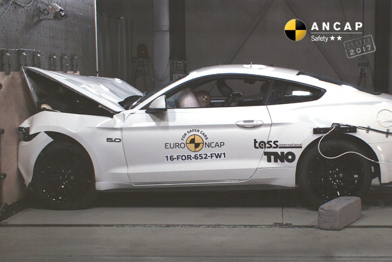 Ford's top-selling car gets shocking 2 stars in crash test