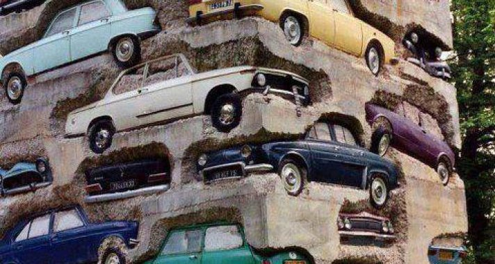 Long Term Parking Sculpture France