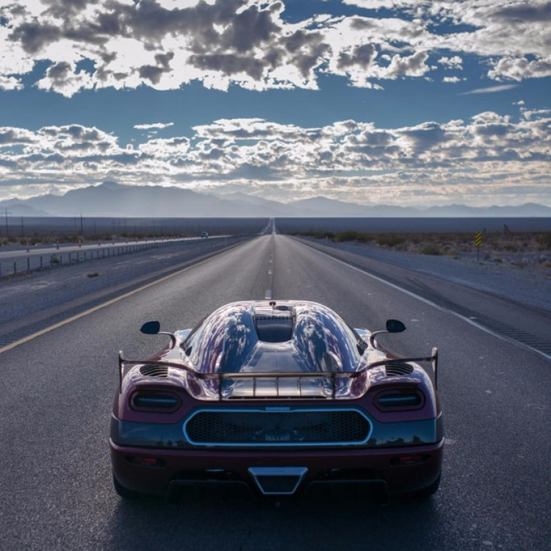 Koenigsegg Agera RS crowned as the fastest car in the world