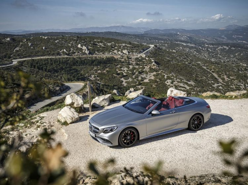 New 2017 Mercedes-AMG S63 Cabriolet