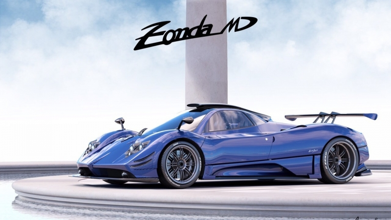 Pagani is back with a new Zonda model!