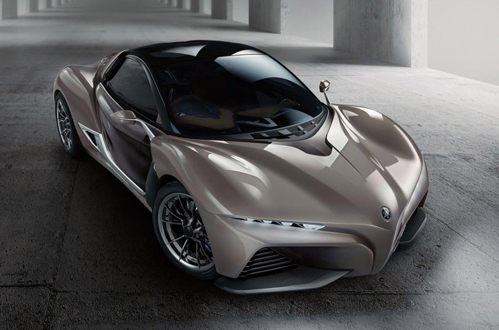 The exotic Sports Ride concept from Yamaha at the Tokyo Motor Show 2015